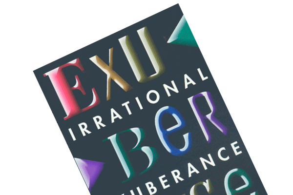 """Boganmeldelse af Robert Shillers """"Irrational Exuberance"""""""