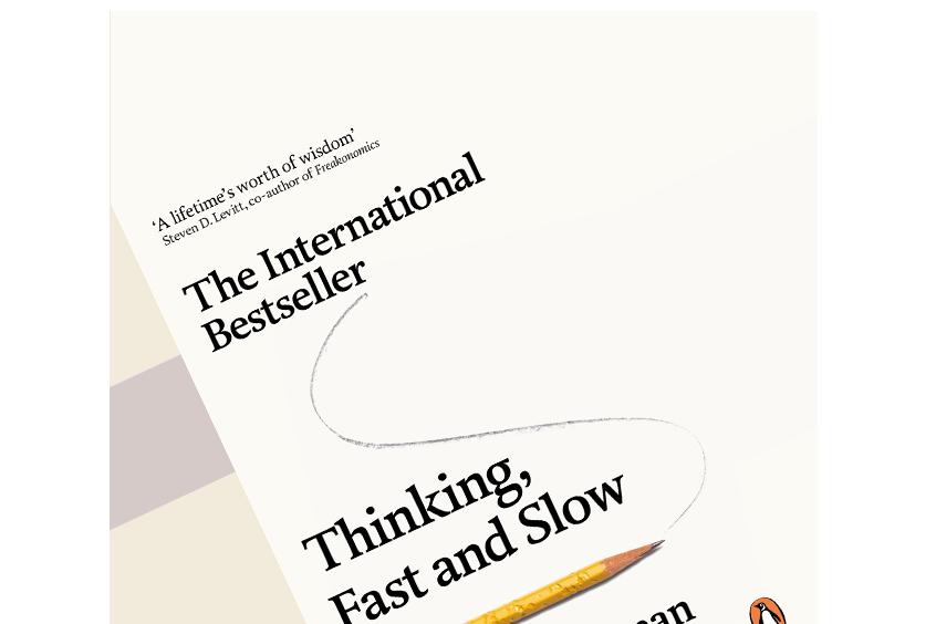 """Boganmeldelse af Daniel Kahnemans """"Thinking, Fast and Slow"""""""